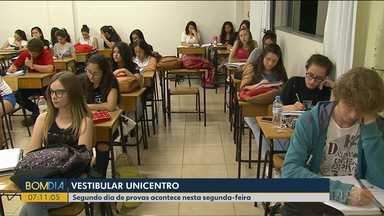 Milhares de estudantes se preparam para o 2º dia de provas da Unicentro - A novidade deste ano é o curso de Medicina.