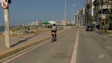 Ciclistas ainda reclamam de falta de respeito no trânsito de Fortaleza - Saiba mais em g1.com.br/ce