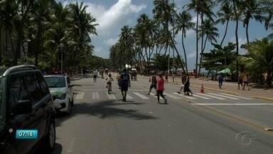 Rua Fechada passa por mudanças na orla de Maceió - Local vai ficar maior e será dividido por setores.