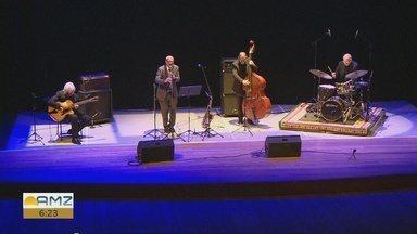 Quarteto italiano faz show em Manaus - Apresentação ocorreu no Teatro Amazonas.