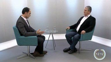 Candidatos com menor pontuação na pesquisa eleitoral são entrevistados pelo SPTV1 - Major Costa e Silva falou sobre empreendedorismo.