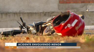 Família de mulher morta em acidente na capital pede justiça - Família de mulher morta em acidente na capital pede justiça