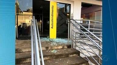 Criminosos expodem agência bancária em Igreja Nova - Caso ocorreu na madrugada.