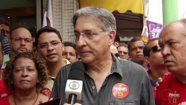 Confira como foi o dia de compromissos dos candidatos ao governo de Minas - Oito candidatos disputam o cargo.