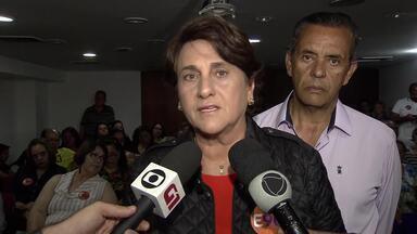 Eliana Pedrosa (PROS) participou de encontro com empresários do setor imobiliário - A candidata afirmou que, se for eleita, pretende facilitar a emissão de alvarás e conceder incentivos ao setor produtivo, como redução de impostos