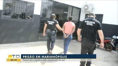 Filhos são presos suspeitos de matar o próprio pai em Marianópolis do Tocantins - Filhos são presos suspeitos de matar o próprio pai em Marianópolis do Tocantins