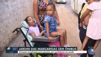 Minha Vida no Buzu: acompanhe a rotina de mães que têm filhos com problemas de saúde - O quadro acompanhou mães do bairro Jardim das Margaridas; veja.