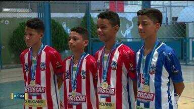 Time de futsal do Piauí é campeão dos Jogos Escolares - Time de futsal do Piauí é campeão dos Jogos Escolares