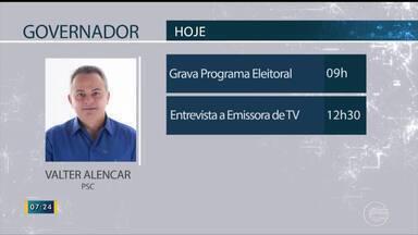 Confira a agenda dos candidatos ao governo do Piauí para esta terça-feira, 18 - Confira a agenda dos candidatos ao governo do Piauí para esta terça-feira, 18
