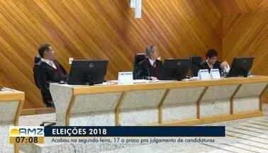 Terminou nesta segunda-feira (17) o prazo para julgamento das candidaturas, no AP - Tribunal Regional Eleitoral e o Ministério Público Federal Eleitoral julgaram 40 processos de candidaturas às eleições 2018