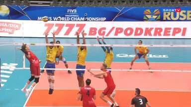 Mundial Masculino de Vôlei - Brasil x Canadá