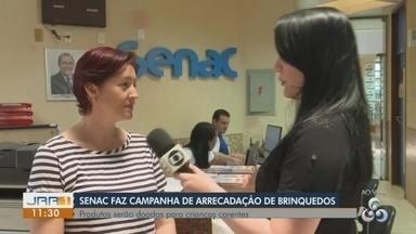 Senac promove campanha de arrecadação de brinquedos em Roraima - Interessados em participar podem doar até o dia 12 de outubro.