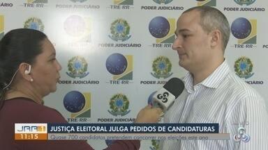 Justiça Eleitoral em RR recebeu mais de 700 registros para as Eleições 2018 - Candidaturas para Governo, Senado, Deputado Federal e Deputado Estadual foram julgadas pelo Tribunal Regional Eleitoral.