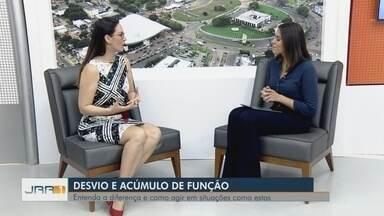 Especialista de Roraima fala sobre acúmulo e desvio de função - A consultora de carreiras Ana Beltrão explica as diferenças entre as atividades.