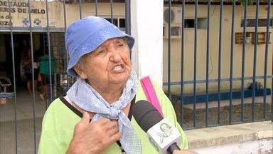 Grupo de servidores de postos de saúde realizam protesto por mais segurança - Saiba mais em g1.com.br/ce