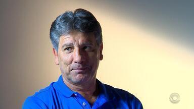 Renato Portaluppi falou tudo sobre a Copa Libertadores. - Veja a entrevista do técnico gremista.
