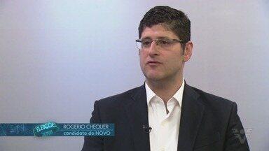 Rogério Chequer, candidato a governador de São Paulo, fala sobre propostas - Candidato pelo partido Novo conversou com o repórter Jean Raupp.