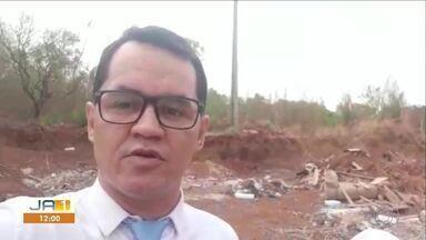 Prefeitura diz que vai verificar limpeza em local de descarte irregular de lixo em Palmas - Prefeitura diz que vai verificar limpeza em local de descarte irregular de lixo em Palmas
