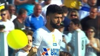 Gabigol aproveita o bom momento no Santos - Gabigol aproveita o bom momento no Santos