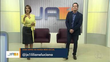 Siga a Lilian Lynch e o Luciano Cabral nas redes sociais e fique por dentro do JA1 - Perfil no Instagram mostra bastidores do Jornal Anhanguera.
