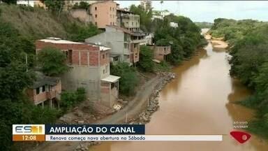 Mais de 50 famílias devem deixar casas próximas ao Rio Pequeno em Linhares, ES - Na região serão realizadas obras para ampliar canal.