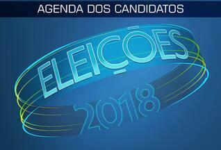Confira a agenda dos candidatos para esta quinta (20) - Confira a agenda dos candidatos para esta quinta (20)