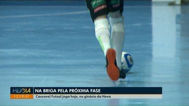 Cascavel joga em casa e tenta classificação para próxima fase da Liga Nacional de futsal - Time enfrenta o Sorocaba na noite desta quinta-feira.