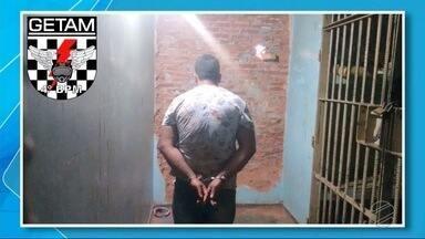 PM prende jovem suspeito de tráfico internacional de drogas - Suspeito foi preso em Ponta Porã, nesta quarta-feira.