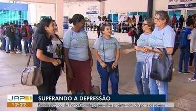Escola pública de Porto Grande desenvolve projeto voltado para os jovens, no AP - Setembro amarelo é o mês da prevenção ao suicídio