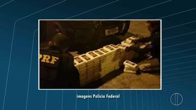 PRF apreende grande quantidade de droga na BR-040, em Petrópolis, no RJ - Assista a seguir.
