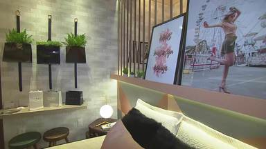 Globo Horizonte visita a Mostra Morar Mais e dá dicas de decoração - Arquitetos do Morar Mais ensinam formas simples de dar uma cara nova para sua casa.