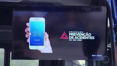 Semana do Trânsito tem atividades de conscientização em Petrópolis, no RJ - Assista a seguir.