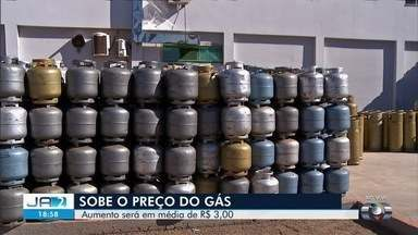Preço do gás de cozinha aumenta em Goiás - Entenda o reajuste e as consequências da mudança.