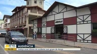 Sobreviventes de tragédia que matou 11 na BR-101 no ES são ouvidos pela Justiça - Acidente aconteceu em Mimoso do Sul, no dia 10 de setembro de 2017. Vítimas faziam parte de um grupo de dança, que voltava de uma apresentação em Minas Gerais.