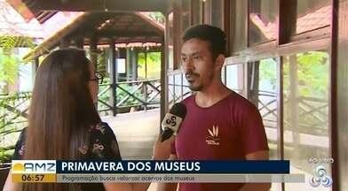 Começa hoje (21) a programação da 12º edição da primavera dos museus, no AP - Evento acontecerá no Museu Sacaca com várias programações culturais diferentes e de valorização