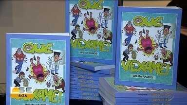 'Que Vexame' reúne cerca de 200 situações vexatórias - Livro da professora Wilma Ramos foi lançado em Aracaju (SE).