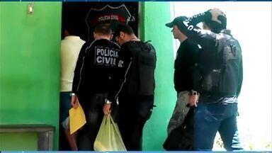 Polícia prende dois suspeitos de participação em chacina, em Quiterianópolis - Saiba mais em g1.com.br/ce