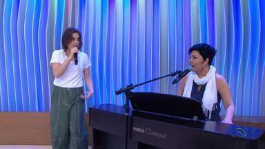 Alessandra Maestrini e Mirna Rubim apresentam musical 'O Som e a Sílaba' em Porto Alegre - O espetáculo tem texto e direção de Miguel Falabella.