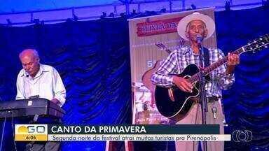 Pirenópolis recebe 19ª edição do Festival Canto da Primavera - Evento já virou tradição.