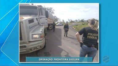 Começa em Ponta Porã a operação Fronteira Segura - Objetivo é combater o tráfico de drogas e armas.