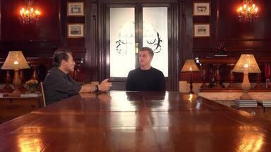 Huck apresenta o Missão Digital e entrevista Peter Diamandis - Apresentador decide pedir mais informações ao especialista