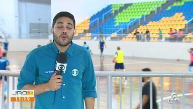 Desafio das Américas: Treino do Brasil e Argentina - Clássico do Desafio das Américas será amanhã no ginásio Cláudio Coutinho.