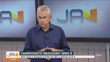 Roberto Alves fala sobre a vitória do Avaí contra o Sampaio Corrêa - Roberto Alves fala sobre a vitória do Avaí contra o Sampaio Corrêa