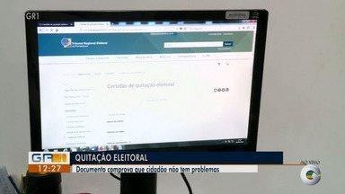 Veja como solicitar documento que comprova quitação eleitoral - Saiba em quais casos esse documento é necessário.