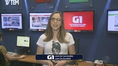 Carol Andrade traz os destaques do G1 Sorocaba e Jundiaí nesta segunda-feira - Carol Andrade traz os destaques do G1 Sorocaba e Jundiaí nesta segunda-feira (24).