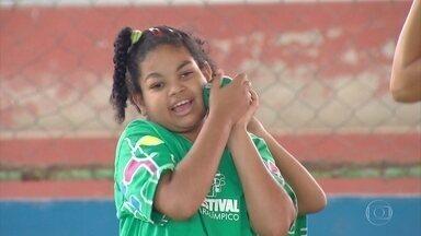 Recife recebeu festival de esportes inclusivos no último fim de semana - Muitas crianças tiveram contato pela primeira vez com o paradesporto