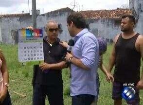 Comunidade denuncia falta de cuidados com praça na Cidade Nova 8 - Equipe do Calendário JL foi até local.