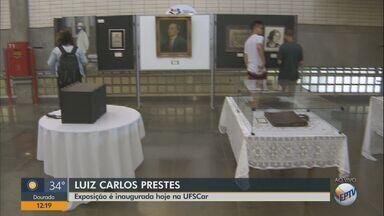 Exposição sobre Luiz Carlos Prestes é inaugurada nesta segunda (24) na UFSCar - Acervo foi doado pela filha dele, Anita Prestes.