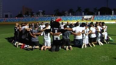 Mesmo com derrota, Goiânia garante acesso à elite do Campeonato Goiano - Galo sobe junto com Goianésia, além de Novo Horizonte e Crac