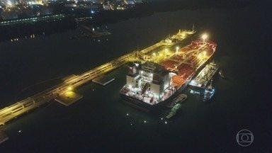 Reportagem do Fantástico mostra como acontece o tráfico de drogas no Porto de Santos - Reportagem também aborda a segurança em outros portos brasileiros.